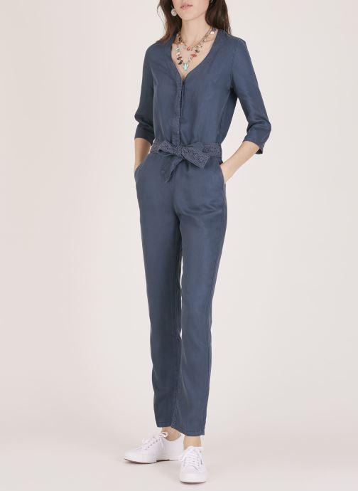 Vêtements Lab Dip Combinaison Lexi Tencel Bleu vue face