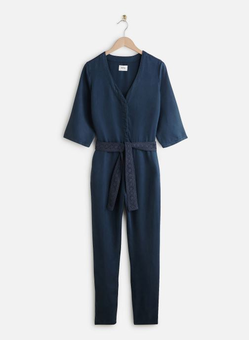 Vêtements Lab Dip Combinaison Lexi Tencel Bleu vue détail/paire