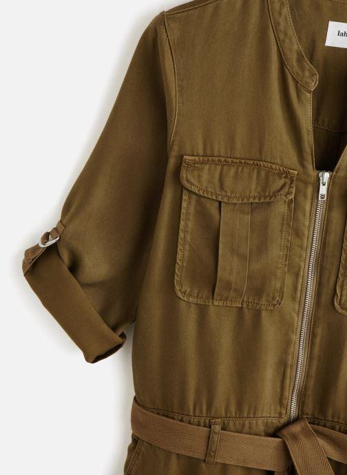 Vêtements Lab Dip Combinaison Leann Tencel Vert vue portées chaussures