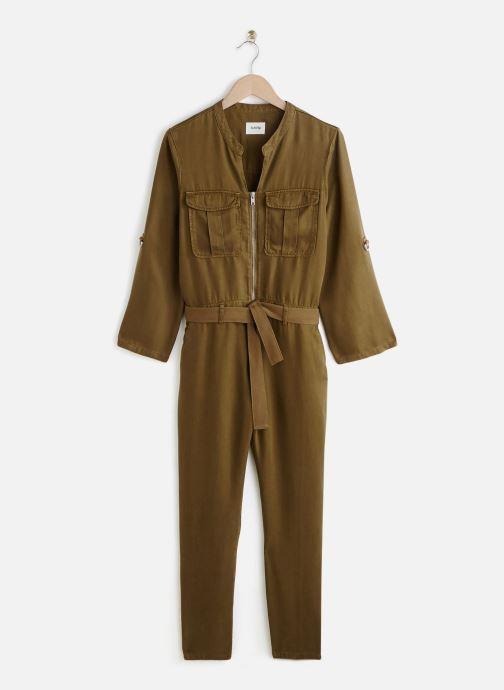 Vêtements Lab Dip Combinaison Leann Tencel Vert vue détail/paire