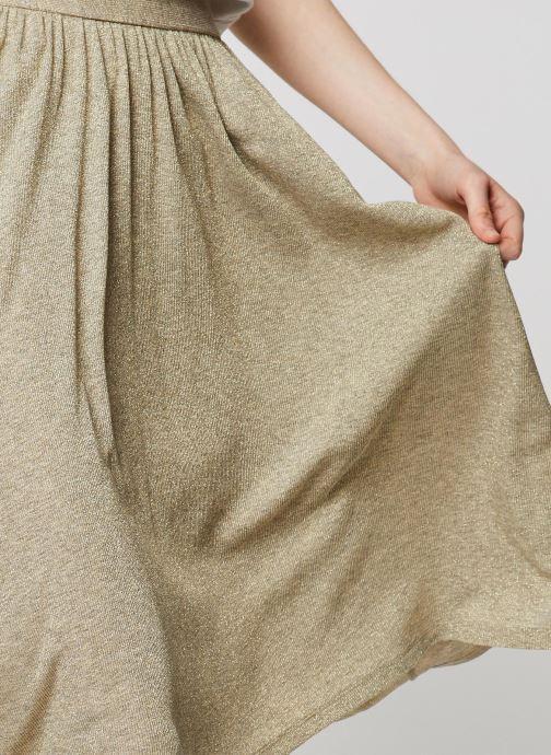 Vêtements Louizon Jupe Delta Beige vue face