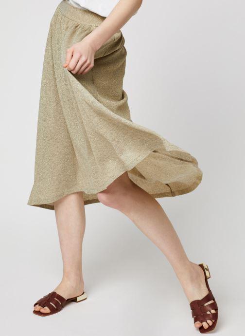 Vêtements Louizon Jupe Delta Beige vue détail/paire