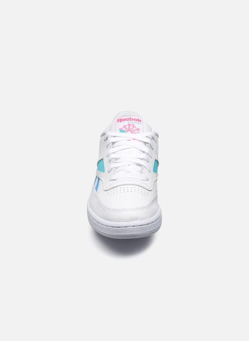 Baskets Reebok Club C Revenge Mark W Blanc vue portées chaussures