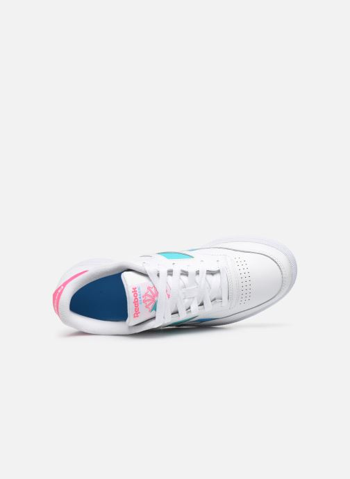 Baskets Reebok Club C Revenge Mark W Blanc vue gauche