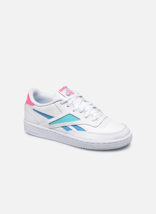 Baskets Reebok Club C Revenge Mark W Blanc vue détail/paire