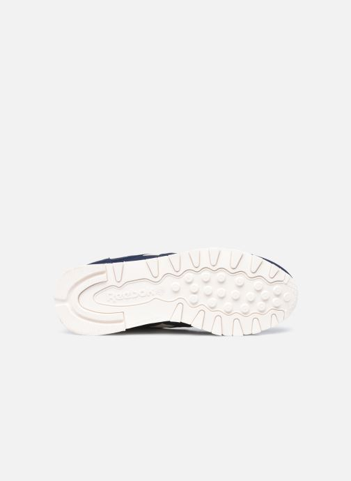 Sneakers Reebok Cl Lthr W Nero immagine dall'alto