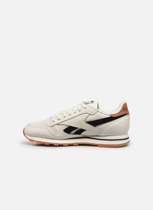 Sneakers Reebok Cl Lthr W Bianco immagine frontale