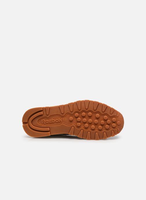 Sneakers Reebok Cl Lthr W Bianco immagine dall'alto