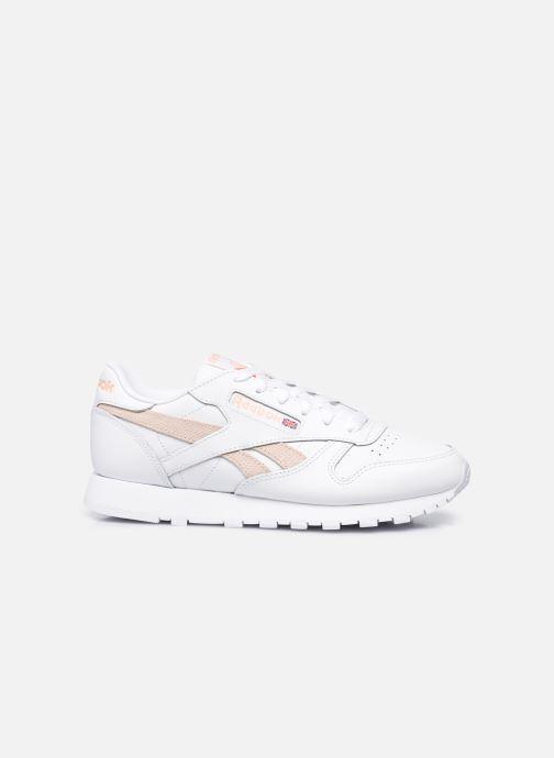 Sneakers Reebok Cl Lthr W Bianco immagine posteriore