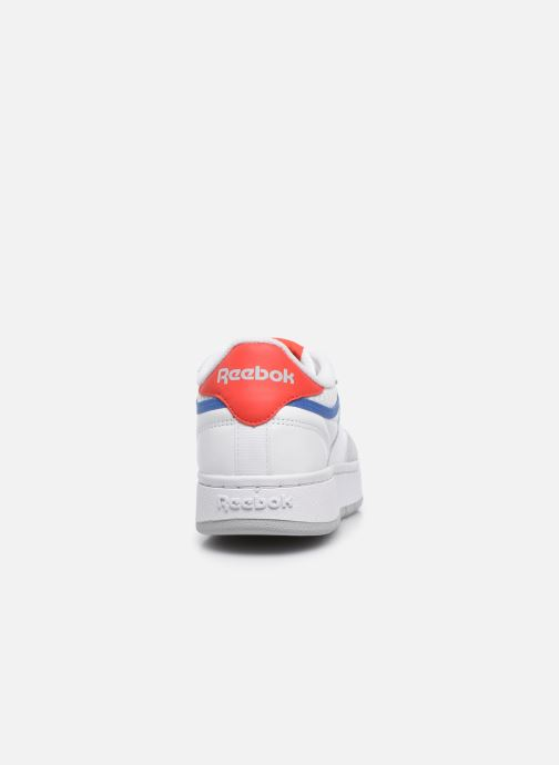 Sneakers Reebok Club C Double W Bianco immagine destra