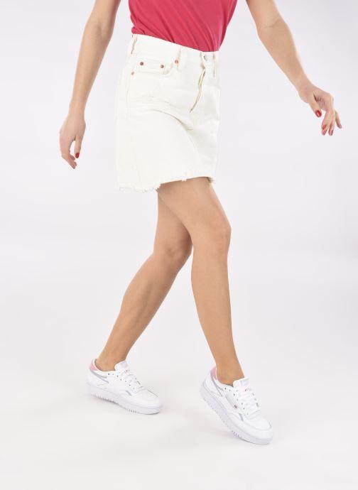 Sneakers Reebok Club C Double W Bianco immagine dal basso