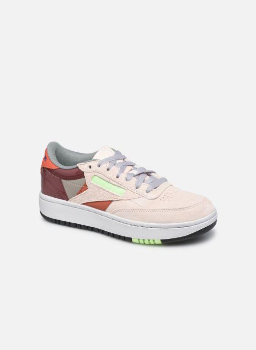 Sneakers Reebok Club C Double W Wit detail