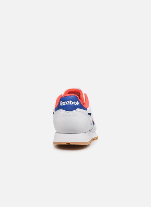 Sneaker Reebok Cl Leather Mark weiß ansicht von rechts