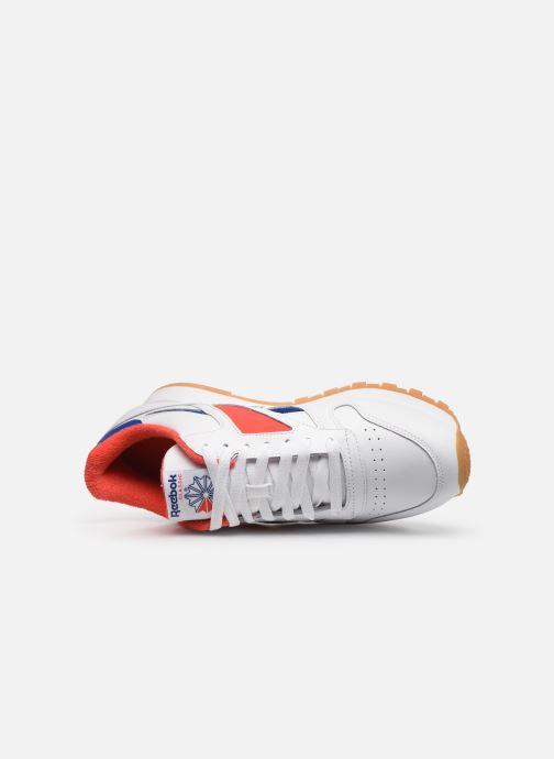 Sneaker Reebok Cl Leather Mark weiß ansicht von links