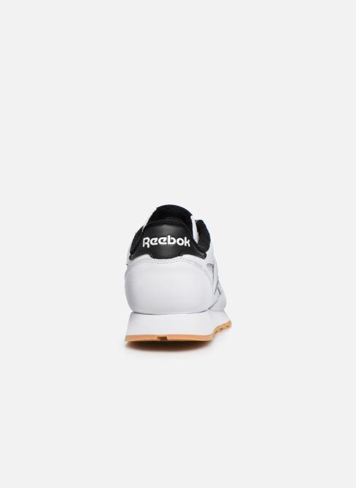 Sneakers Reebok Cl Leather Mark Wit rechts