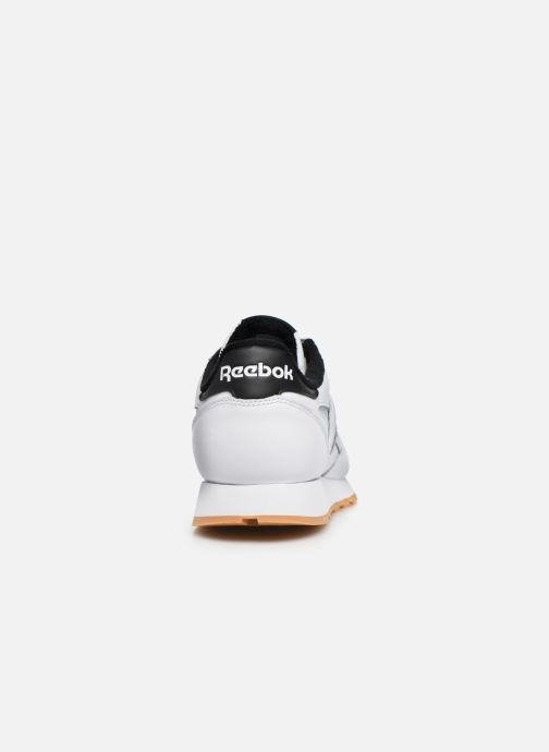 Deportivas Reebok Cl Leather Mark Blanco vista lateral derecha