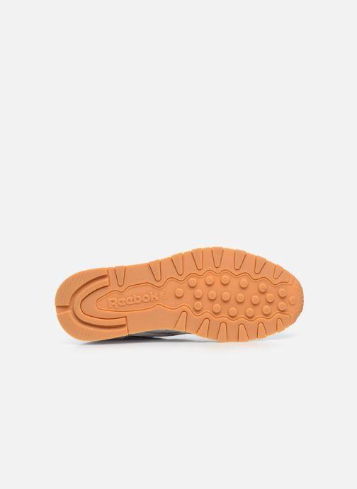 Sneaker Reebok Cl Leather Mark weiß ansicht von oben