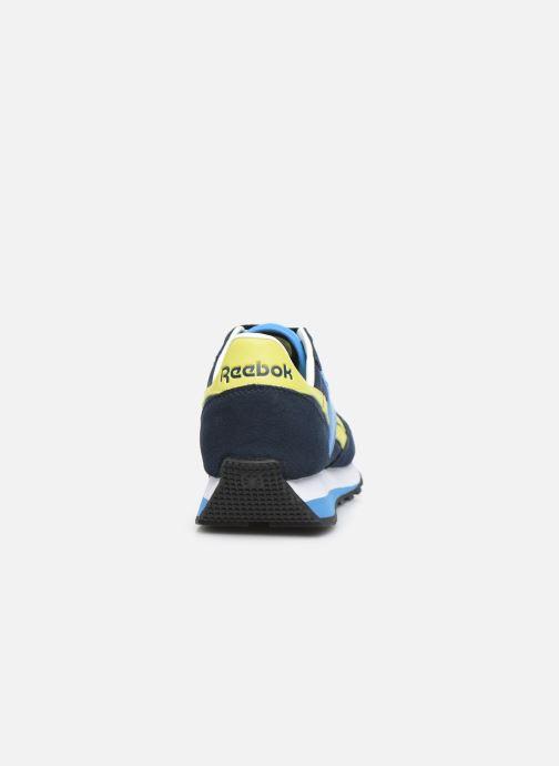 Baskets Reebok Cl Lthr Az Bleu vue droite