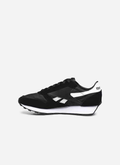 Sneaker Reebok Cl Lthr Az schwarz ansicht von vorne