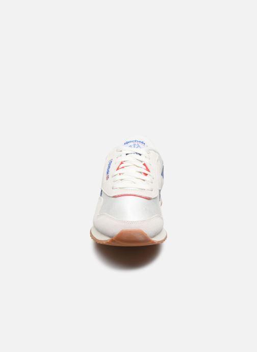 Baskets Reebok Cl Nylon Ripple Mu Blanc vue portées chaussures