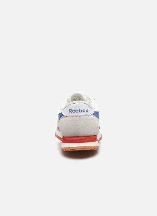 Baskets Reebok Cl Nylon Ripple Mu Blanc vue droite
