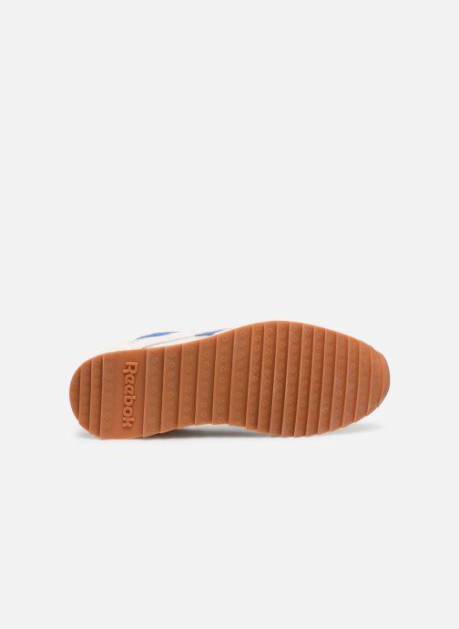 Baskets Reebok Cl Nylon Ripple Mu Blanc vue haut