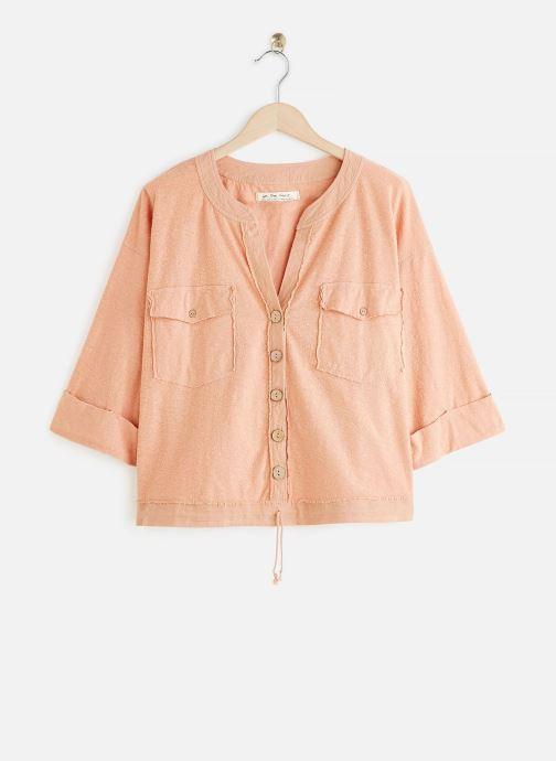 Vêtements Free People ELIZA TEE Orange vue détail/paire