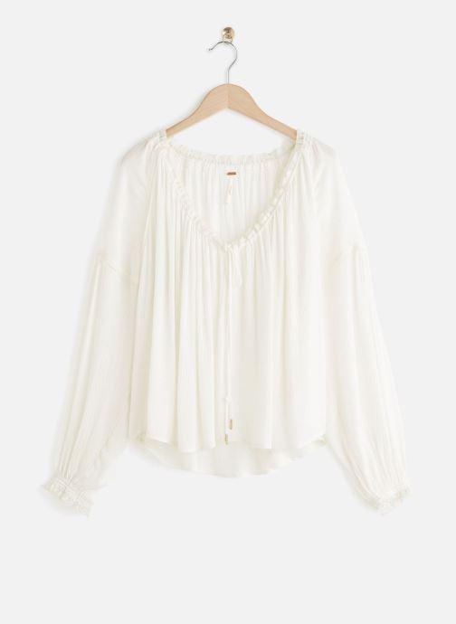 Vêtements Free People BANDA BLOUSE Blanc vue détail/paire