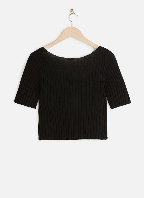 Vêtements Free People LITTLE CUTIE CARDI Noir vue bas / vue portée sac