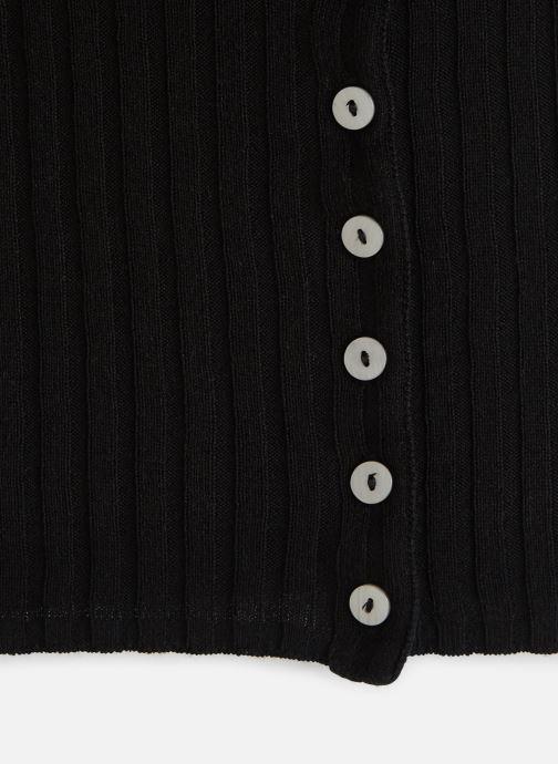 Vêtements Free People LITTLE CUTIE CARDI Noir vue portées chaussures