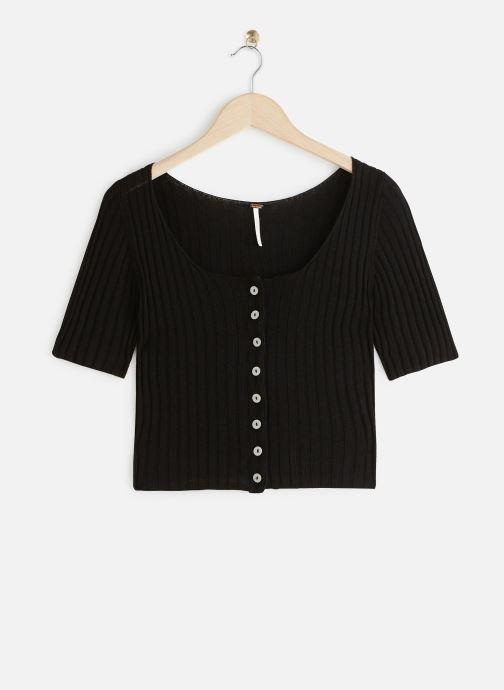 Vêtements Free People LITTLE CUTIE CARDI Noir vue détail/paire
