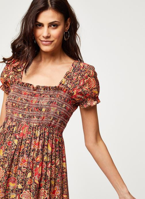 Vêtements Free People GETAWAY MIDI Marron vue face