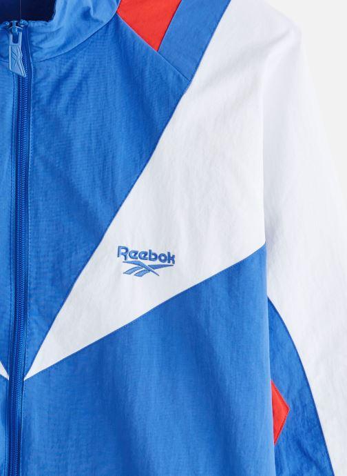 Vêtements Reebok Cl Intl Sport Twin V Tt Bleu vue portées chaussures