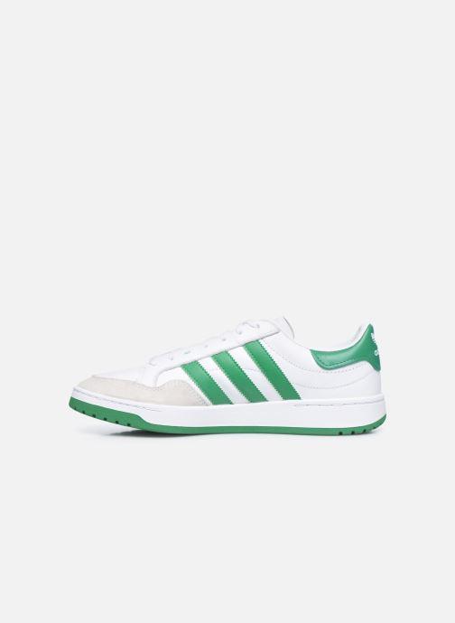 Sneakers adidas originals Team Court Bianco immagine frontale