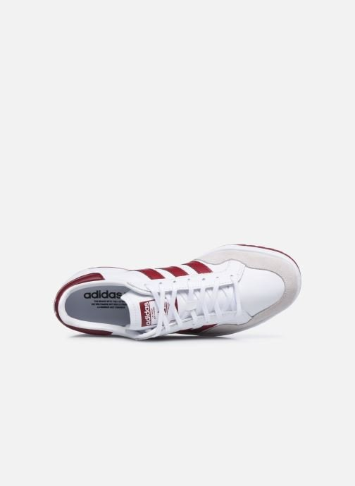 Baskets adidas originals Team Court Blanc vue gauche