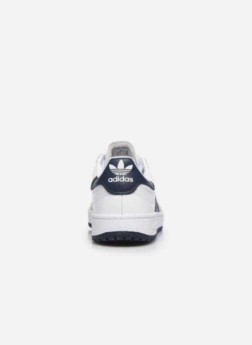 Baskets adidas originals Team Court Blanc vue droite