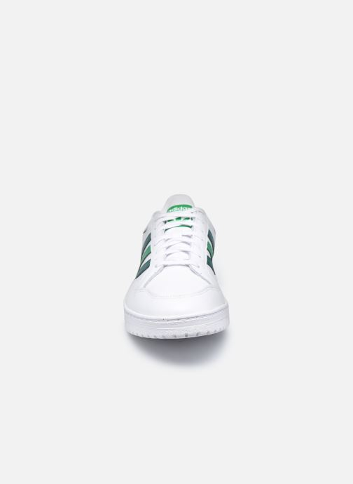Sneakers adidas originals Team Court Bianco modello indossato