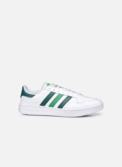 Sneakers adidas originals Team Court Bianco immagine posteriore