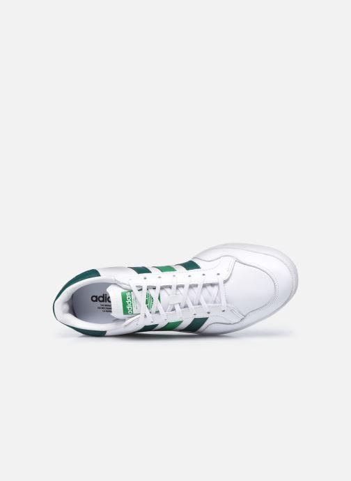 Baskets adidas originals Team Court Blanc vue gauche