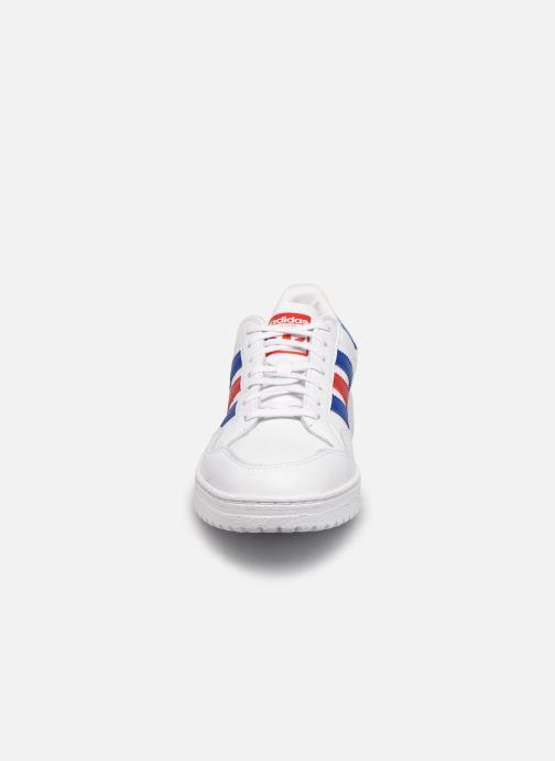 Sneaker adidas originals Team Court weiß schuhe getragen
