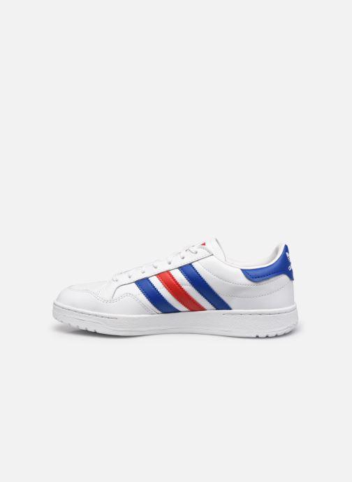 Sneaker adidas originals Team Court weiß ansicht von vorne