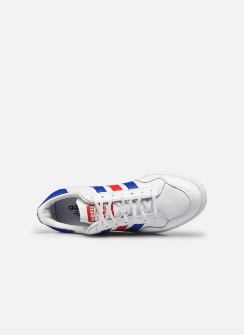 Sneaker adidas originals Team Court weiß ansicht von links