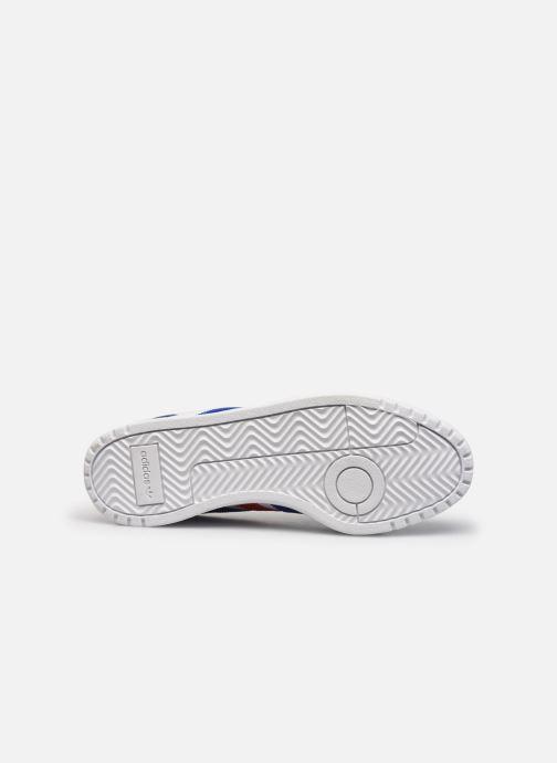 Sneaker adidas originals Team Court weiß ansicht von oben