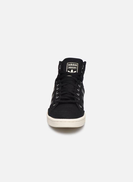 Baskets adidas originals Americana Decon W Noir vue portées chaussures