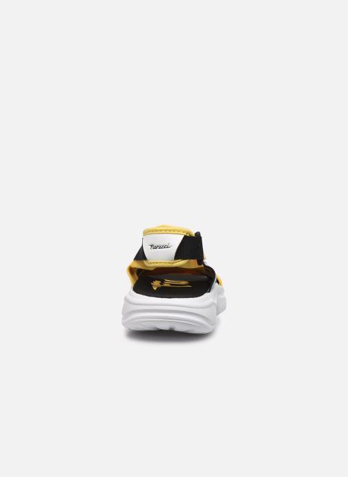 Sandali e scarpe aperte adidas originals Magmur Sandal W Giallo immagine destra
