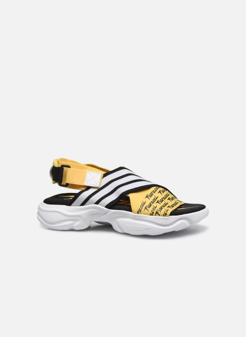 Sandalias adidas originals Magmur Sandal W Amarillo vistra trasera