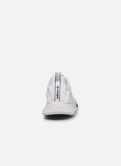 Sneaker adidas originals Zx Fuse Adiprene X weiß ansicht von rechts