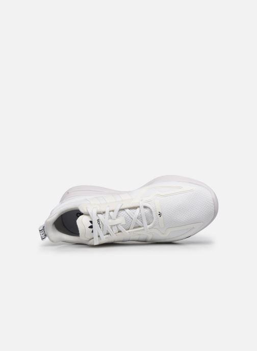 Sneaker adidas originals Zx Fuse Adiprene X weiß ansicht von links