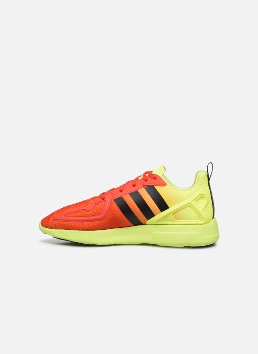 Deportivas adidas originals Zx Fuse Adiprene X Naranja vista de frente