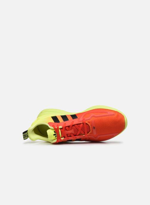 Deportivas adidas originals Zx Fuse Adiprene X Naranja vista lateral izquierda